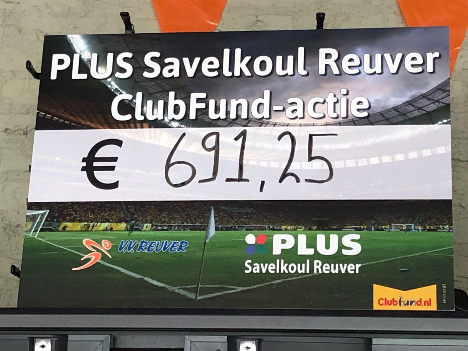 Clubfund-actie groot succes